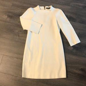 Small Zara Winter White Shift Dress